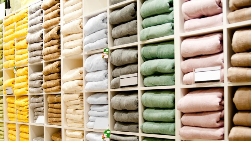 Make sure to test the fabric of the towel while buying