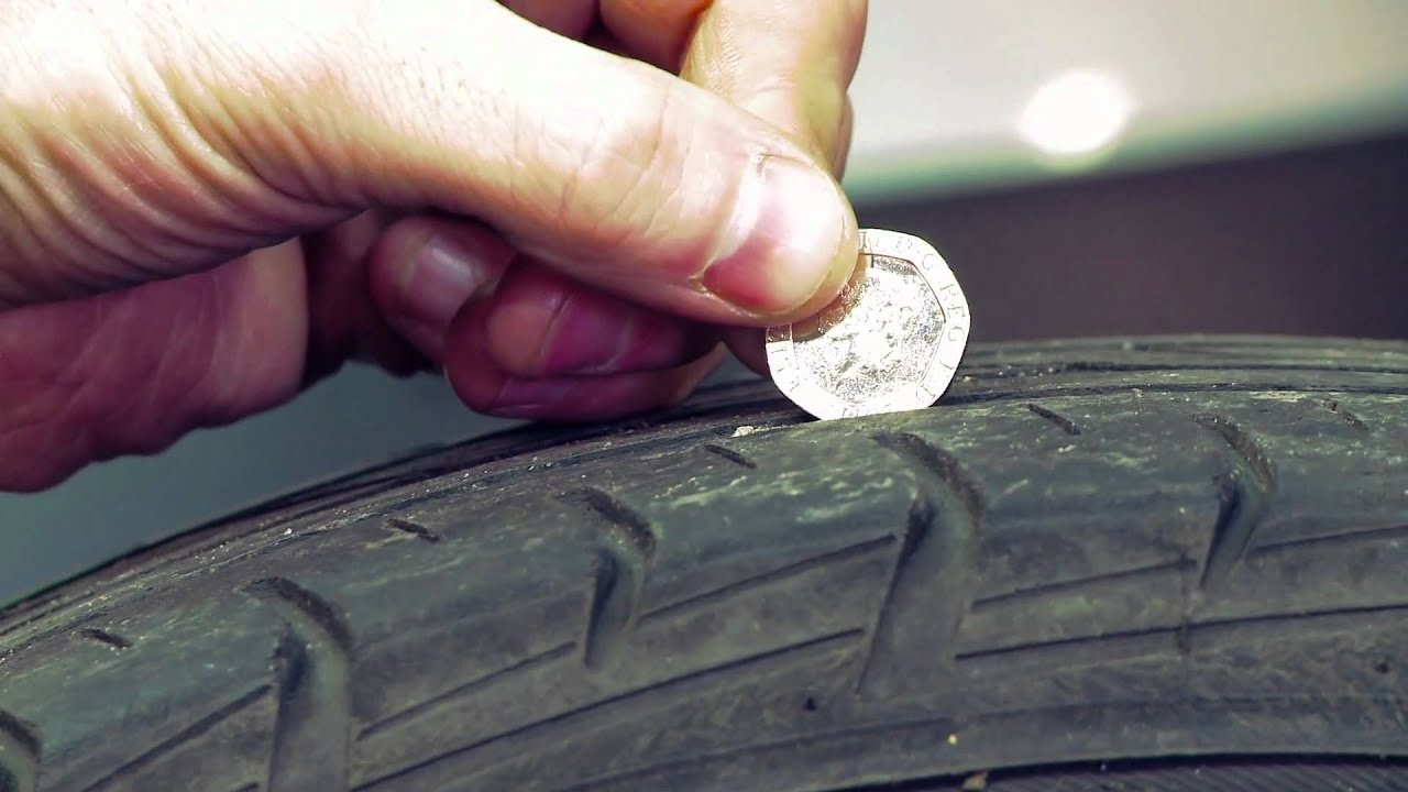 How To Check The Tread Depth of Your Tyres