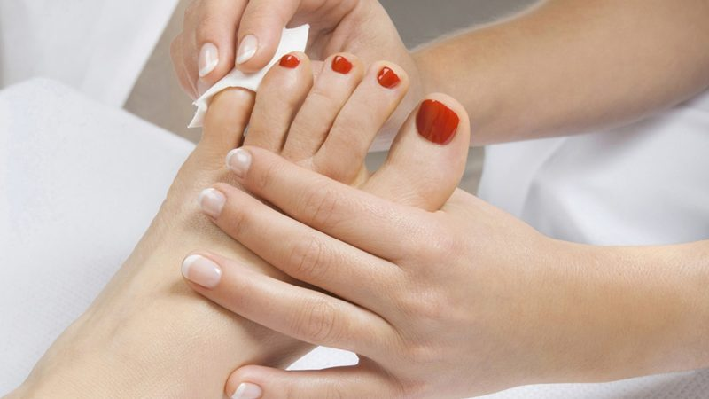 Step By Step Process Of Pedicure